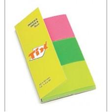 Індекс-мітки 40х50мм/3х40арк. fluor TIX 8340-3F