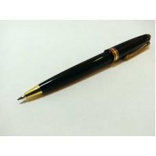 Ручка кулькова aвтоматична /синя/ чорний корпус