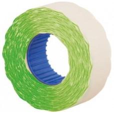 Цінник 22х12мм 1000шт. фігур. Е21303-04 /зелений/