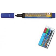 Маркер д/фліпчартів Granit M160 /синій/ конус. 2-3мм