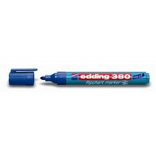 Маркер д/фліпчартів Edding 380 /синій/ конус. 1,5-3мм