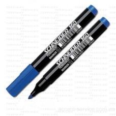 Маркер перманентний Schneider MAXX160 1-3мм кон. /синій/