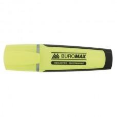 Маркер текстовий BM8900-08 /жовтий/ скош. 2-4мм