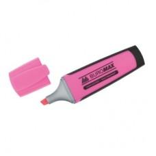 Маркер текстовий BM8900-10 /рожевий/ скош. 2-4мм