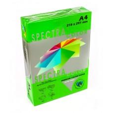 Папір кольор.А4/80 500арк. SPECTRA інтенсивний зелений
