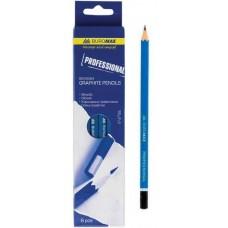 Набір олівців графіт. д/креслення Buromax Professional  ВМ8564 6шт. коробка