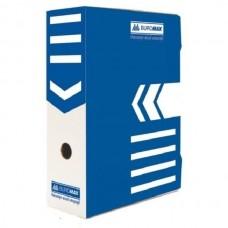 Бокс архівний А4 80мм ВМ 3260-02 синій