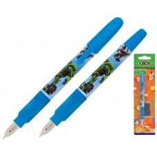 Ручка перова ZB.2242 +2капс. блістер