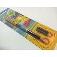 Ручка перова Donau MA-4B +2капс. блістер