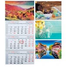 Календар квартальний настінний 3 пруж.