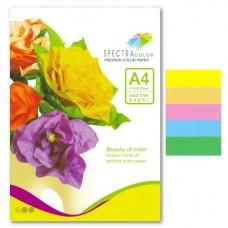 Папір кольор.А4/80 250арк. SPEKTRA Color 5 кольорів