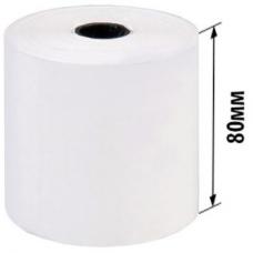 Стрічка касова 80мм*75м, вт.12мм, щіл.48г/кв.м, терм.