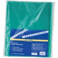 Папка-файл  А4+ /100шт/ 40мкм ВМ3810-04 /зелений/