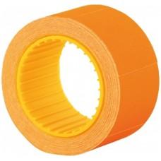 Цінник 36х29мм 166шт. прямокут. 6м /оранжевий/