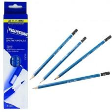 Олівець графіт. Buromax Professional ВМ8565 HB