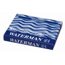 Капсули з чорнилом 8шт. Waterman /сині/