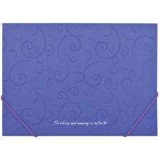 Папка А4 на гумках BM3914-07 /фіолетова/ Barocco
