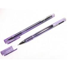 Ручка гелева Economix E11913-12 PIRAMID /фіолетова/